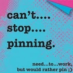 Pinhead / Pinterest should make you want to live your own life better, rather than live vicariously through others. Pinning is one of life's little pleasures that makes me happy. I ponder, I dream, I laugh, I get inspired, I'm encouraged, I smile, I beam, I'm charmed, I pin. Bliss. Done.