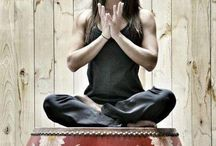 Yoga and mudras  / by Vanessa S