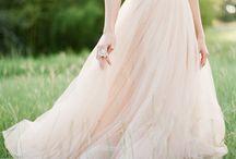 Feminine Romance : The more romantic gowns