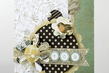 Cardmaking - Collage Cards