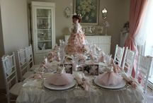 Vintage Doll Themed Tea Party