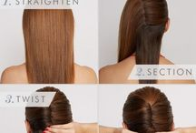 Hairstyles / Simple hairstyles to try out