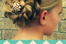 wedding hair / by Sarah Ponsler
