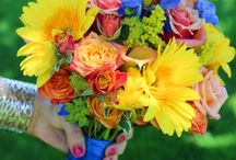 Bright and colorful weddings