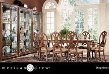 American Drew Furniture / Founded nearly 90 years ago, American Drew has established themselves as a leading manufacturer of mid-priced bedroom, dining room and occasional furniture.