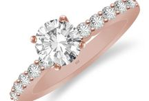 Rose Gold Diamond Jewelry / Rings, Earrings, Pendants and many more Jewelry designs in Rose Gold.
