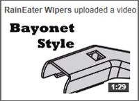 How to Change Your Wiper Blades / Check out this tutorial on how to change your wiper blades using our RainEater Wiper Blades featuring EZ Quick Installation. Buy them online at http://raineater.com