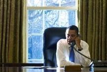 President Barack Obama / The first black president / by Deborah Wright