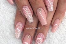 nailed it .♡ / !PINK nails!