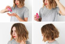 hairstyles and styling