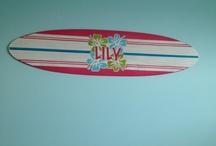Rhian's surfer girl room ideas