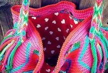Wayuu mochila bags / Zelf gemaakte mochila bags