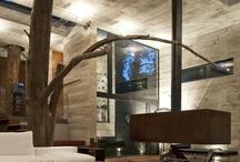 TV interior / design and concept pres