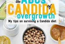 Candida diet info