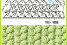 Puntos de crochet / by Sandra Jimenez