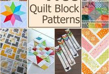 Quilting Blocks and Patterns / Quilting blocks and patterns