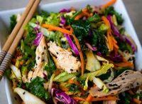 Salad / Asiatisk kyllingsalat