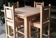 ชุดโต๊ะ+เก้าอี้