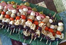 Antipasti on a stick