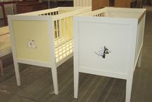 Furniture decoration / Some made and all painted by Fiona Ansink