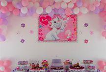 aniversário gatinha marie / decoração de aniversário (1 ano) Tema Gatinha Marie