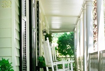 A Southern Porch {Design Inspiration} / Have Southern Porch. Must decorate.