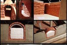 miniatura de construções