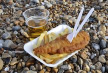 Fish and Chips at the Seaside