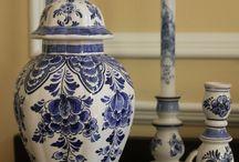 Historic Delft / examples of 17th -18th century Delftware