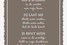 Poëzie / Mooie gedichten