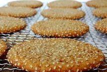 galletas de sésamo
