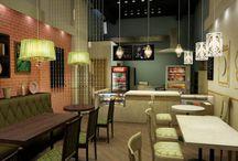 Ресторанный дизайн / Дизайн ресторанов, кафе, фаст-фуд
