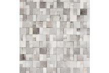 Grey cowhide rugs