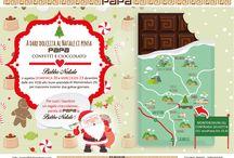 Sweet Christmas / Il Natale più cioccolatoso di sempre #cioccolata #natale #babbonatale #casadibabbonatale #regalidinatale #papaconfetti #santaclaus #regalidinatale