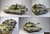 M1A2 Abrams OIF / Name :M1A2 Abrams Manufacture  Tamiya Skale : 1/35 Made by : Maciej Ligięza (Daz)  Company : Mmodels