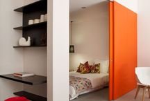 Kis lakás, hálóval