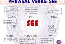 Phrasal verb see