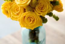 color: sunny day / wedding day inspiration based on the color yellow / by kristin austin