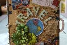 Travel - Scrapbook projects
