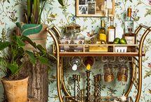 Home Bars/Bar carts