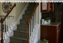 Wood stairs idea