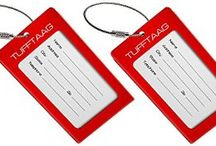 TUFFTAAG Metal Luggage Tags / High Quality Travel Accessories