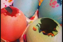 Easter egg bombs / by Jessica Streb Flannery