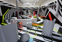 Funky Interiors / There is a world of very interesting ideas when it comes to interiors, this is just a few we like.
