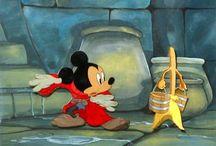 Julekugler og pynt med Mickey