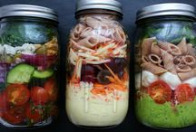 Salad in a jar...