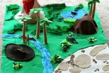 Lasten viidakko-teema