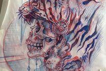 Derek Turcotte çizimleri