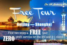 Free China Tour - a big discount on Beijing Shanghai holiday trip / Free China Tour - a big discount on Beijing Shanghai holiday trip - http://www.absolutechinatours.com/china-travel-deals/free-china-tour/