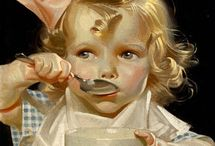 Art of J. C. Leyendecker / Years ago I bought some old magazine ads I liked at a flea market. Later I found that they were Leyendecker prints. J. C. Leyendecker has been one of my favorite of all American artists ever since. / by Claudia Pierce